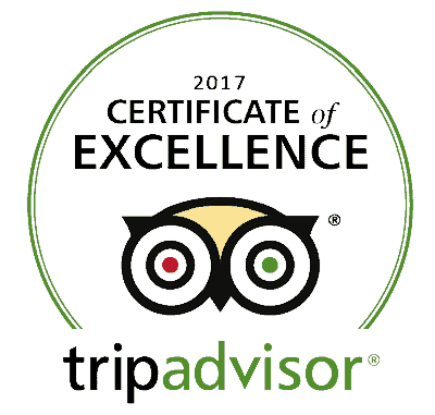 Tripadvisor Certificate of Excellence for The Bodywise Clinic Dublin