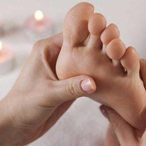 reflexology massage gift voucher