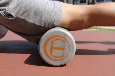 foam rolling for DOMS relief