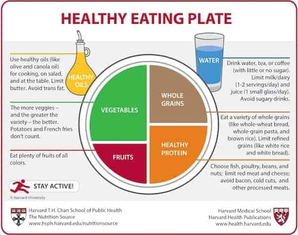 nutritional pyramid healthy plate health benefits of coffee