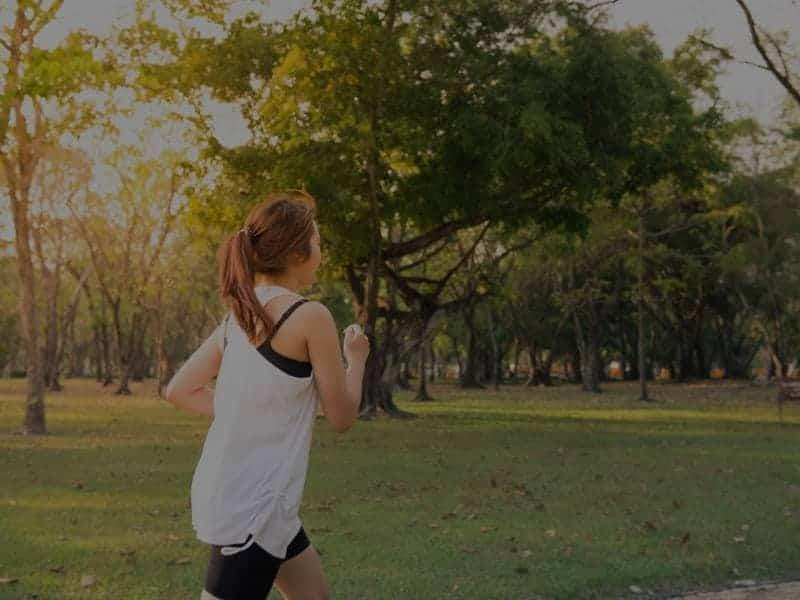 running in the park in ireland
