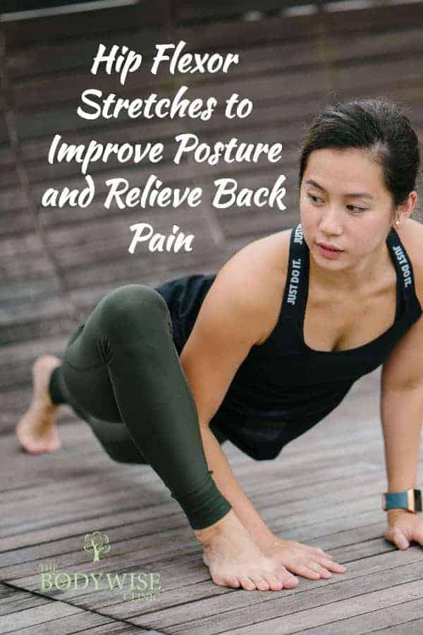hip flexor stretches for pain relief