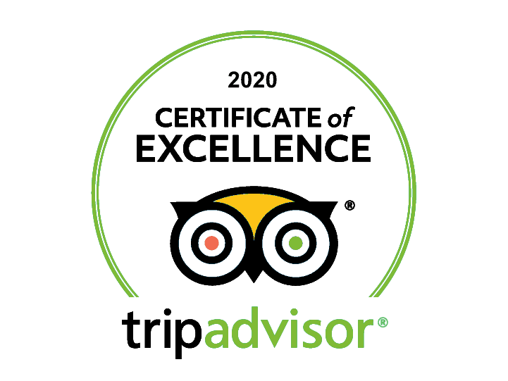 tripadvisor 2020 certificate of excellence